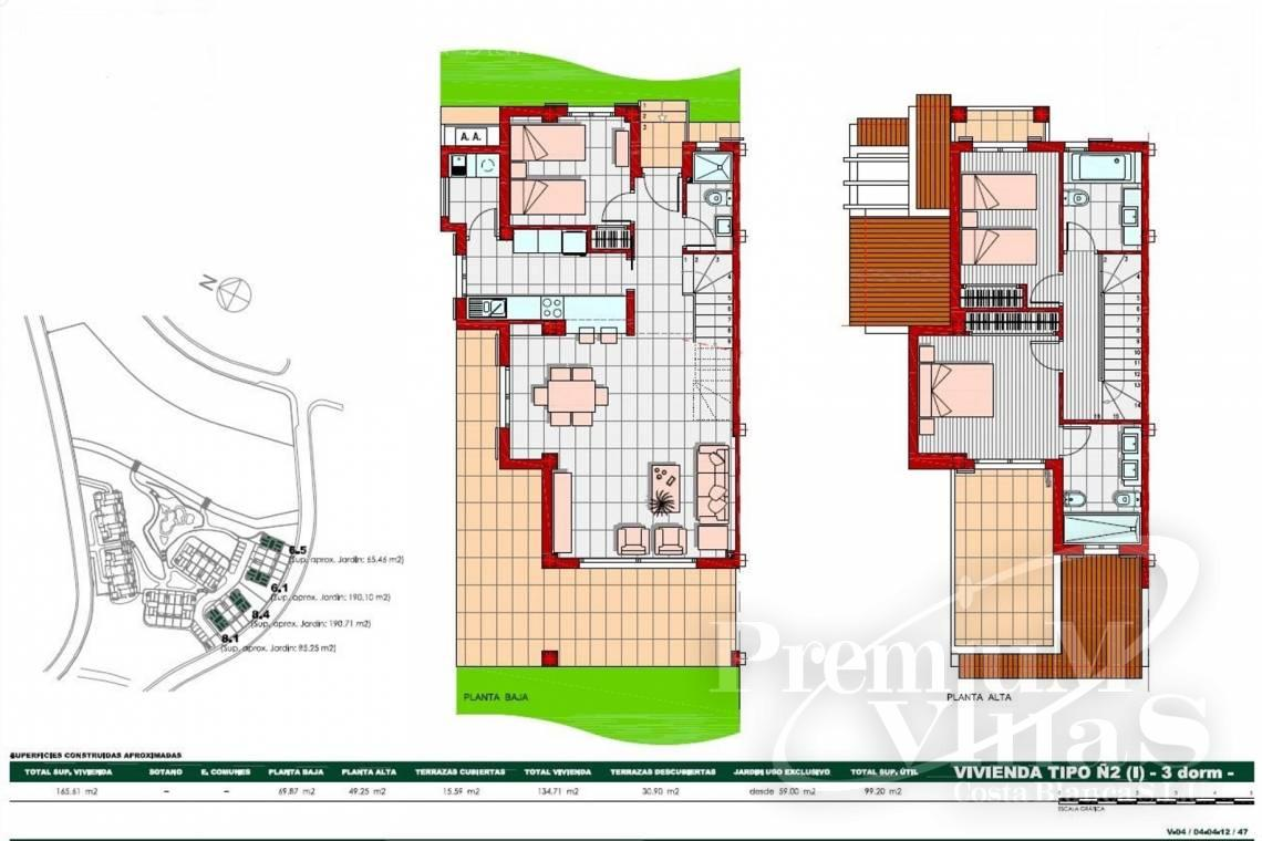 - C2269 - Newly built 3 bedroom terraced houses in Finestrat 28