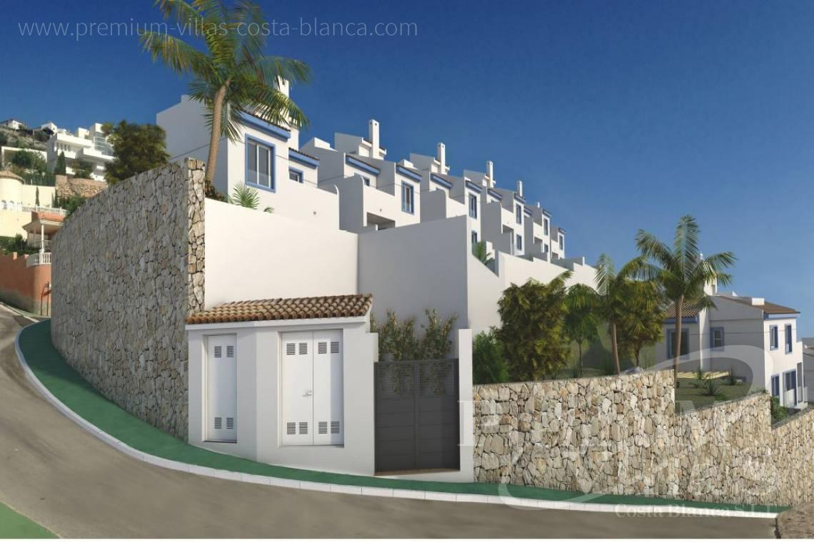 Buy house villa property Altea Hills Costa Blanca - C2189 - Single family homes in Altea Hills with stunning sea views 25
