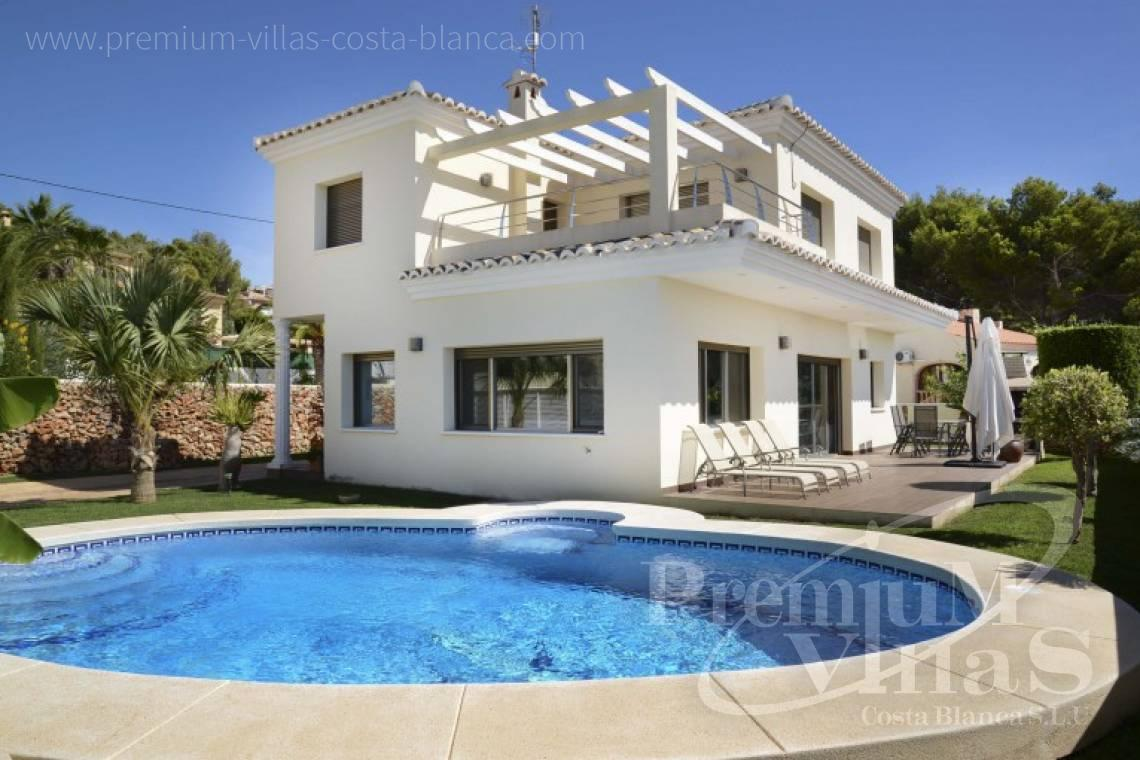 modern house Costa Blanca - C2223 - Modern villa in Calpe close to the beach  1