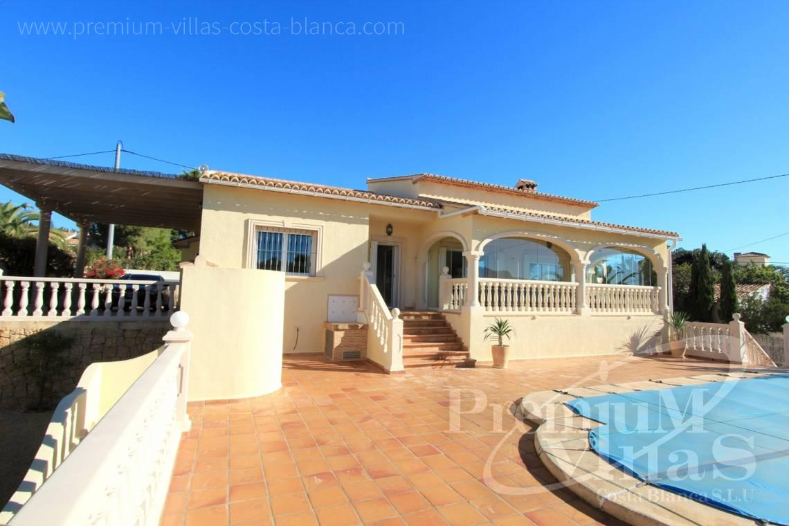 Mediterranean villa on one floor in Calpe Costa Blanca - C2001 - Mediterranean villa built on one floor with sea view 2