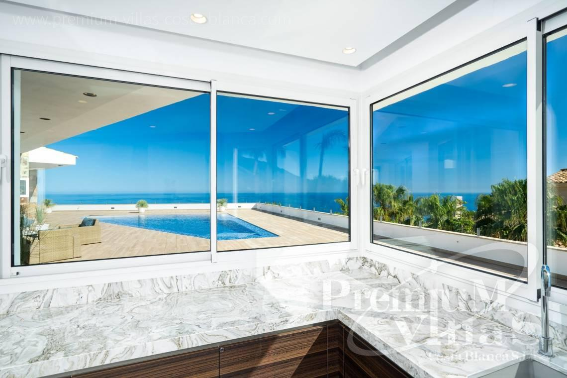 Buy luxury villa with sea views in Altea Costa Blanca - C2316 - Modern luxury villa with sea views in Altea 4