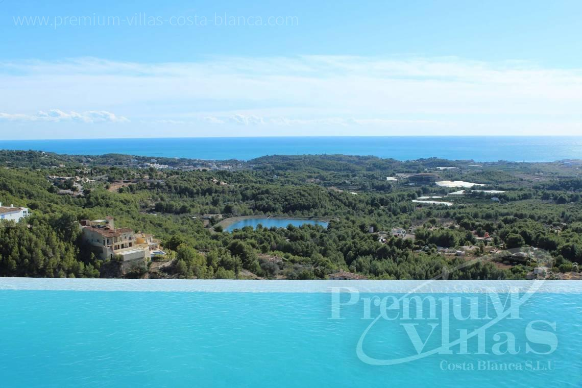 Buy modern villa with sea views in Altea la Vella Costa Blanca - C2057 - Modern luxury villa in Altea La Vella 2