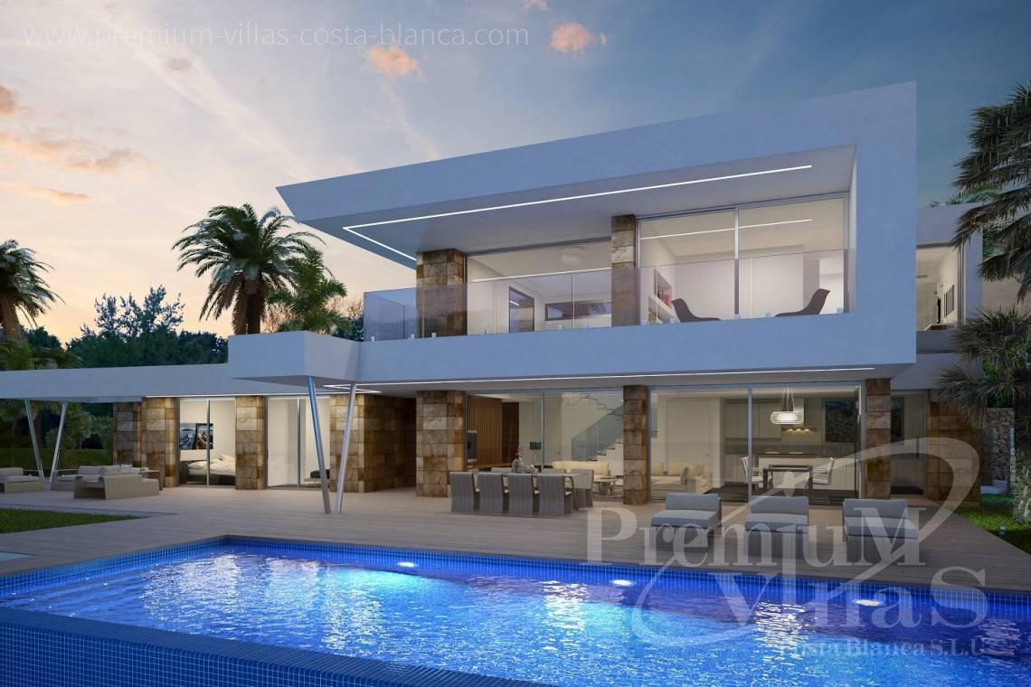 Luxury house altea costa blanca spain modern villa for for Modern day houses