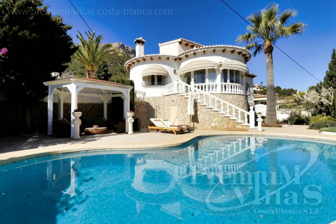 Buy 3 bedroom villa in Cucarres Calpe - C2265 - Sea view mediterranean villa 3 bedrooms in Calpe 27