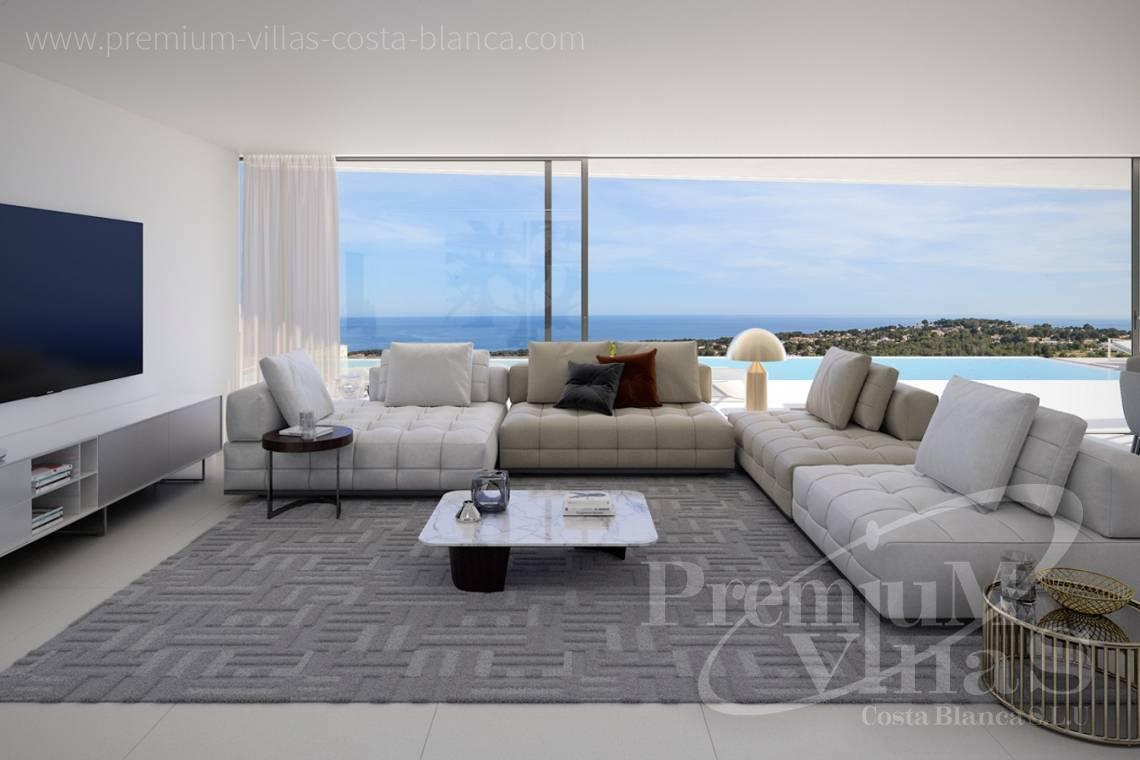 Buy a luxury villa with sea views in Moraira Costablanca - C2127 - Luxury villa in Moraira 2.5 km from the beach with sea views 11