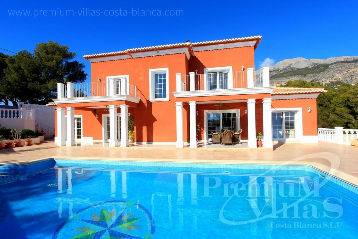 Bioclimatic villa house in Altea Costablanca - C1721 - Colonial style villa in Altea with lovely sea views 1