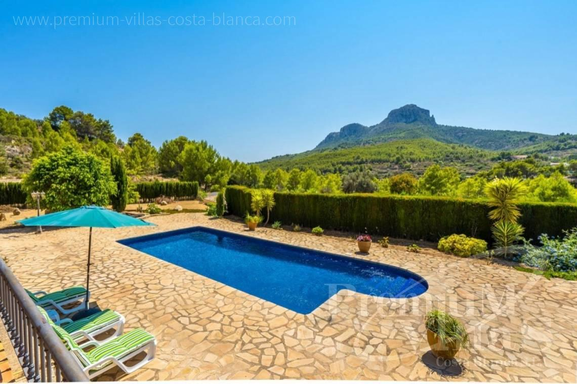 finca, land house for sale Benissa Costa Blanca - C2209 - Magnificent finca in Benissa with 10.000m2 of land with stunning mountain views 2
