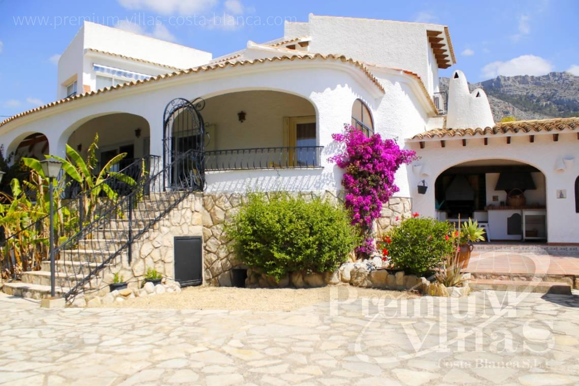 house villa for sale Altea Costa Blanca Spain - C2162 - Villa in Altea with guest apartment and sea views 5