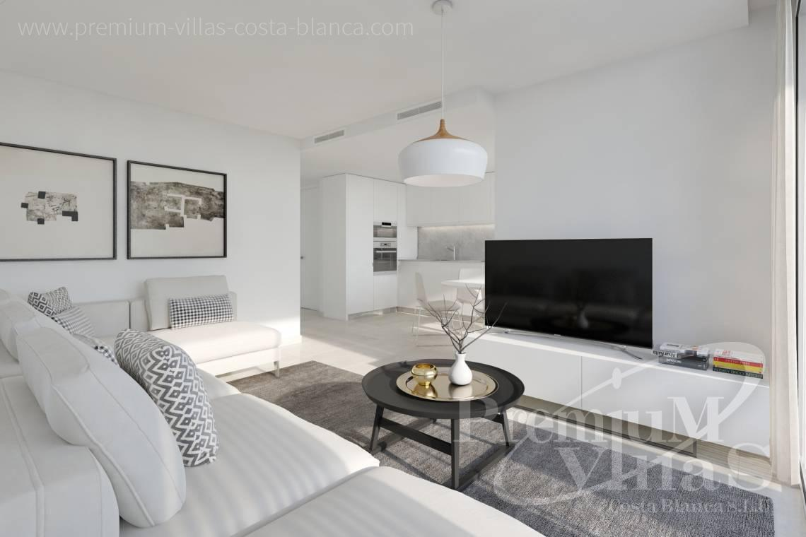 Modern bungalows for sale in Finestrat Costa Blanca - C2349 - New construction semi detached houses in Finestrat 3