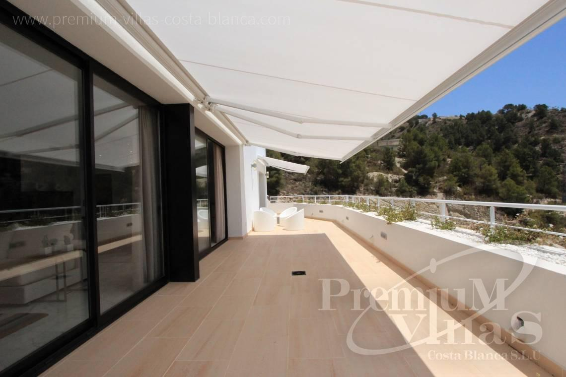Buy modern house Altea Costa Blanca - C1595 - Six modern luxury villas under completion with very nice sea views 4