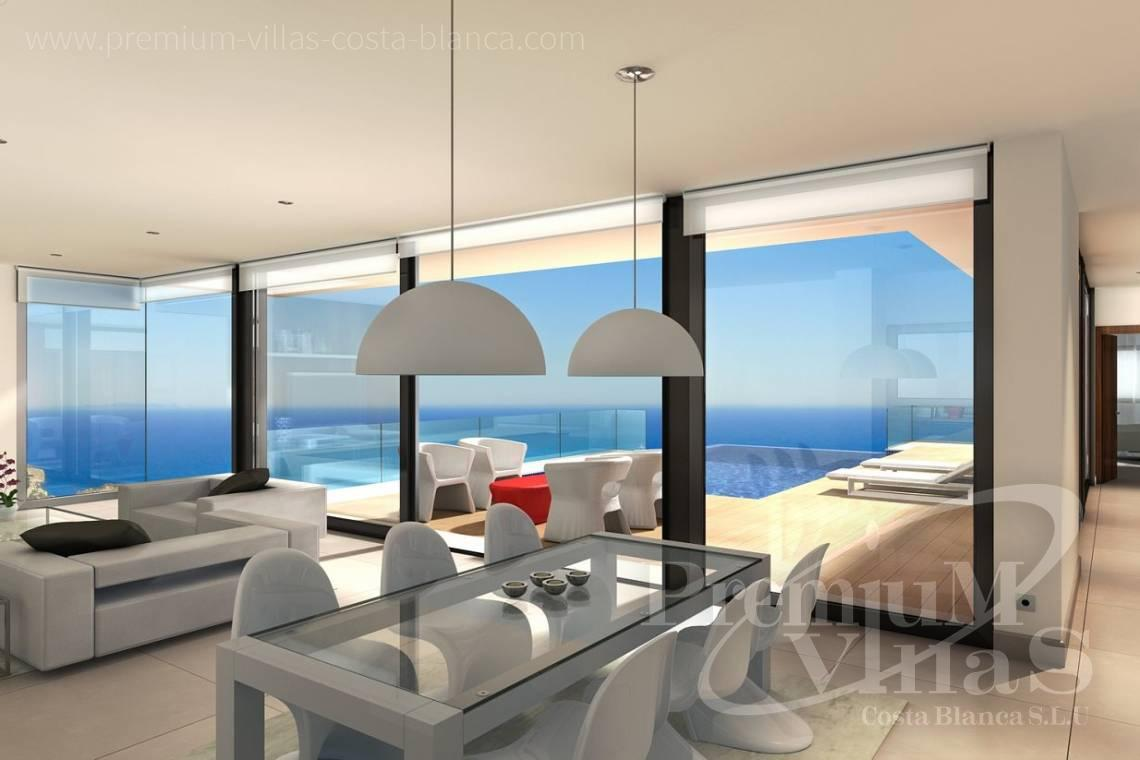 Buy a modern villa with sea views in Benitachell Costablanca - C2025 - Modern new build with fantastic sea views 7