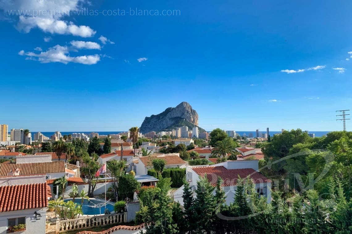 Buy villas houses sea view Calpe Costa Blanca - C2240 - Modern villa in urbanization Ortenbach in Calpe 2