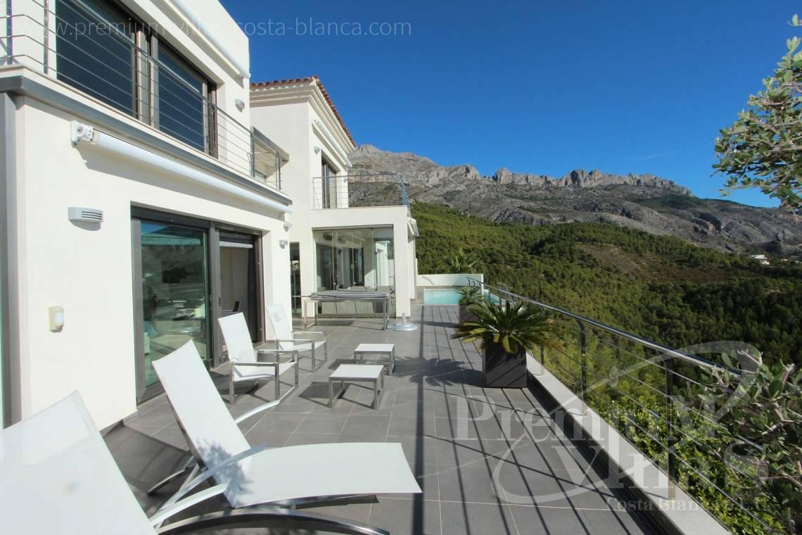 modern villas for sale Costa Blanca Spain - C2057 - Modern luxury villa in Altea La Vella 4