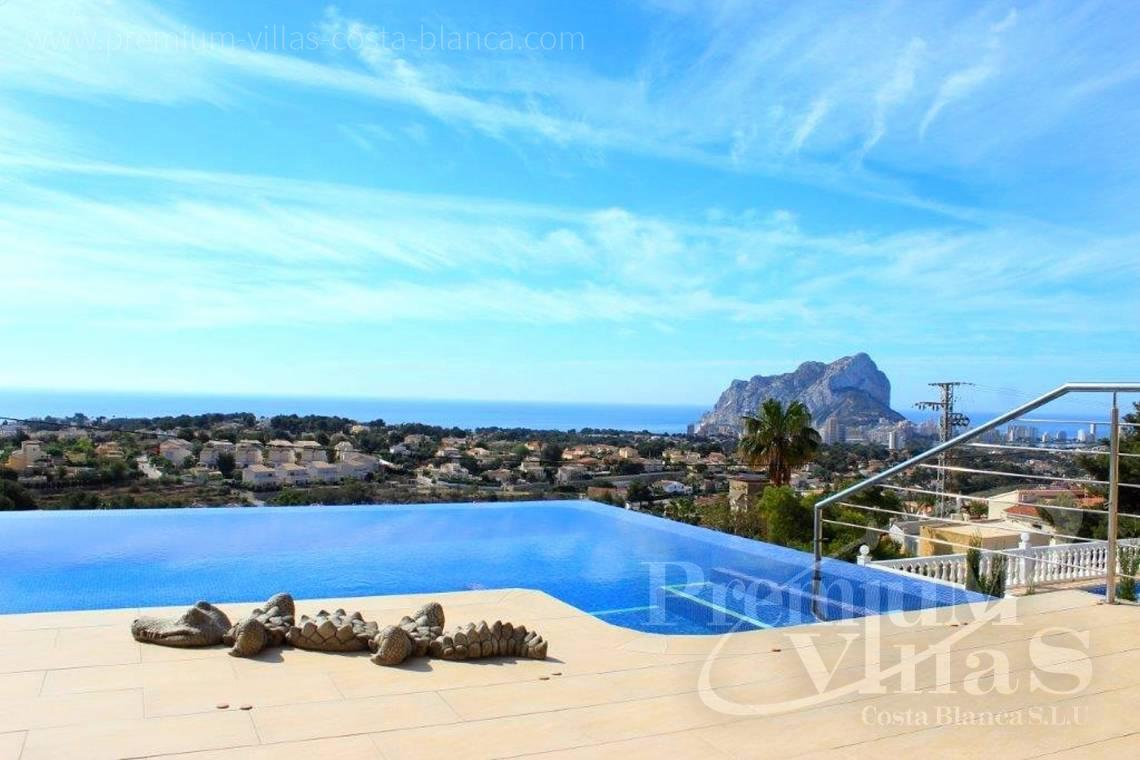 House villa for sale Calpe Costa Blanca - C1784 - Modern villa with a lift and great sea views in Calpe 2