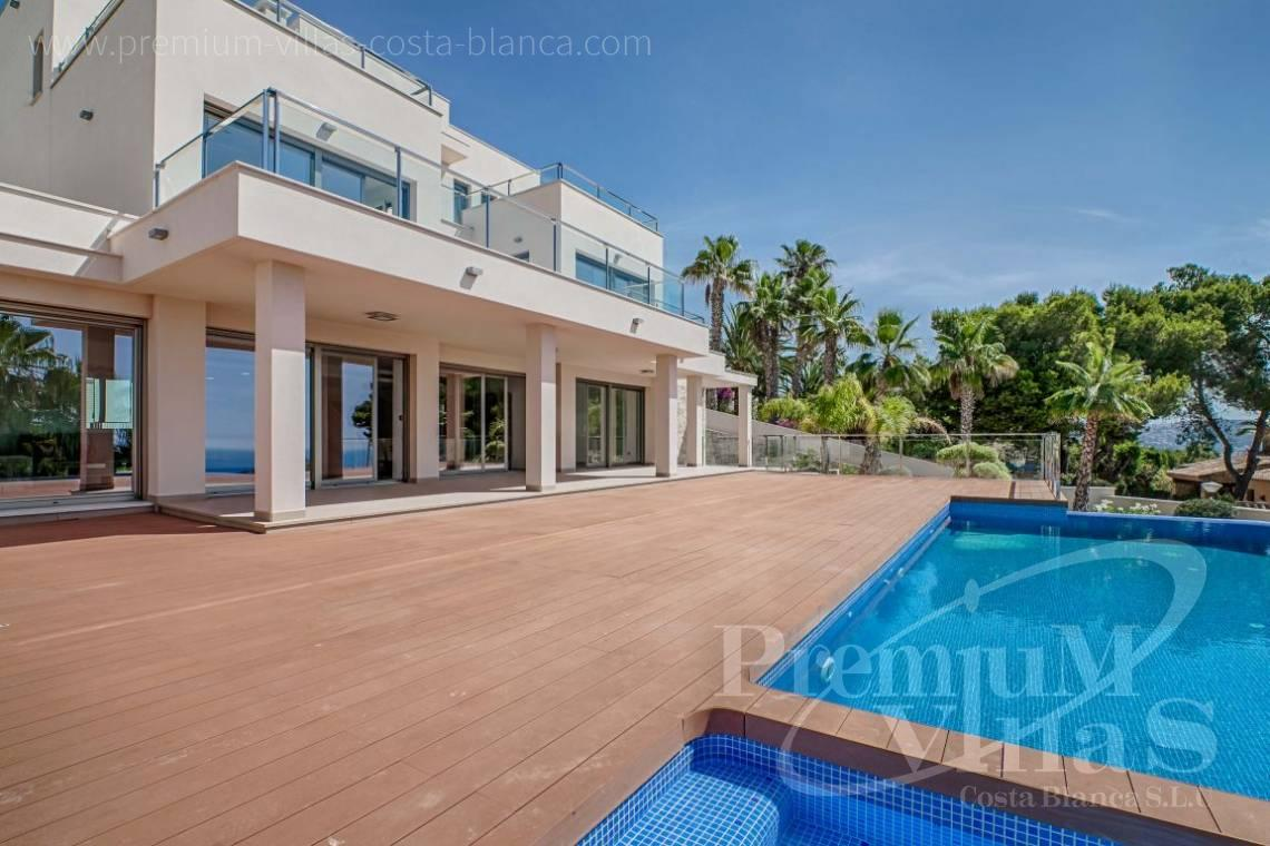 modern villas houses for sale Moraira  Costa Blanca Spain - C1637 - Modern luxury villa in Moraira with nice sea views 1