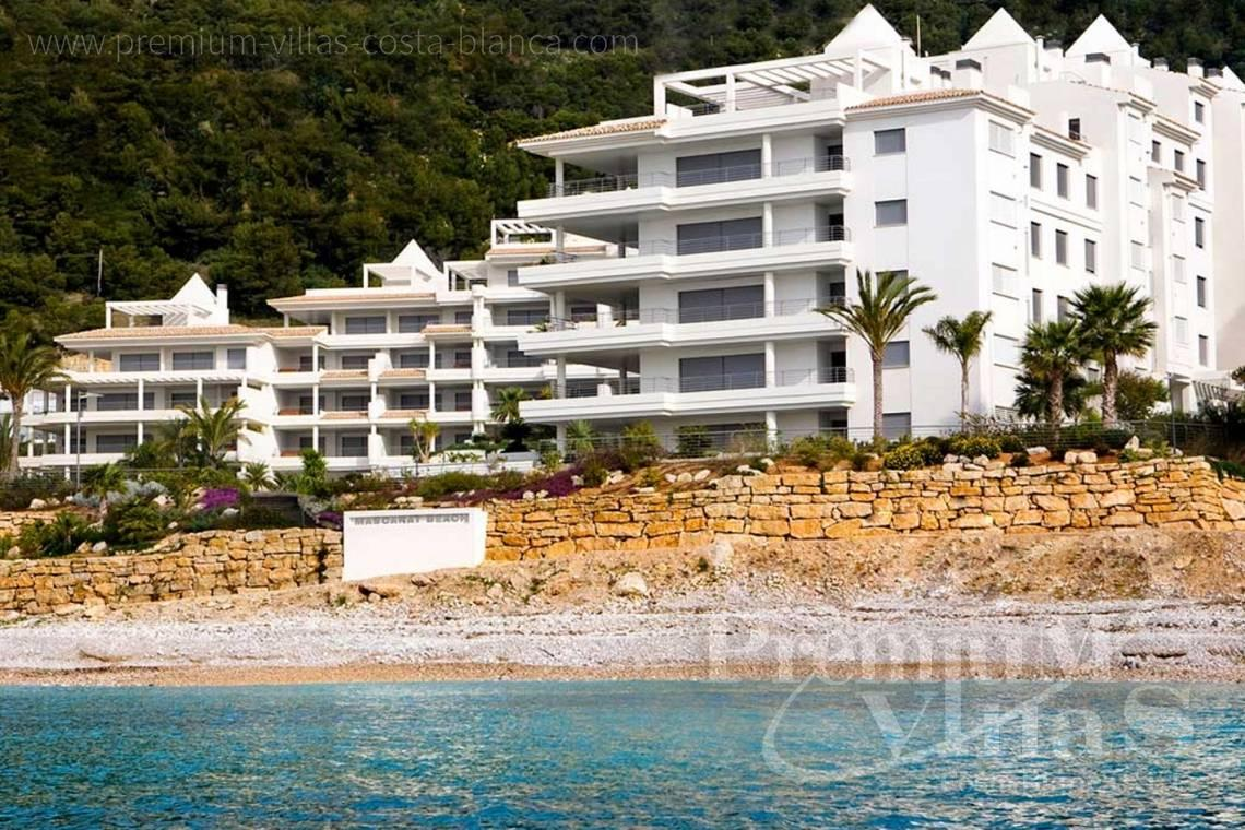 Luxury apartment in Mascarat Beach Altea - A0606 - Seafront apartment in residential Mascarat Beach 1