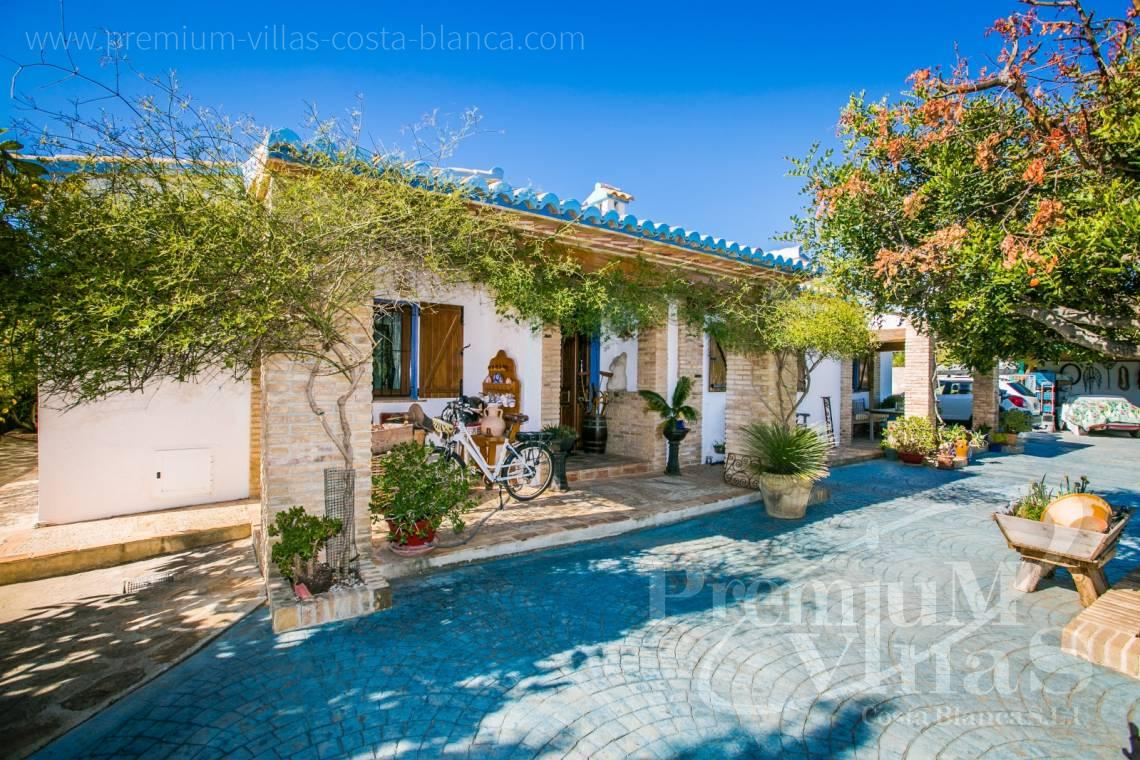 finca, land house for sale Benissa Costa Blanca - C2170 - Beautiful finca in Benissa with breathtaking sea views 29