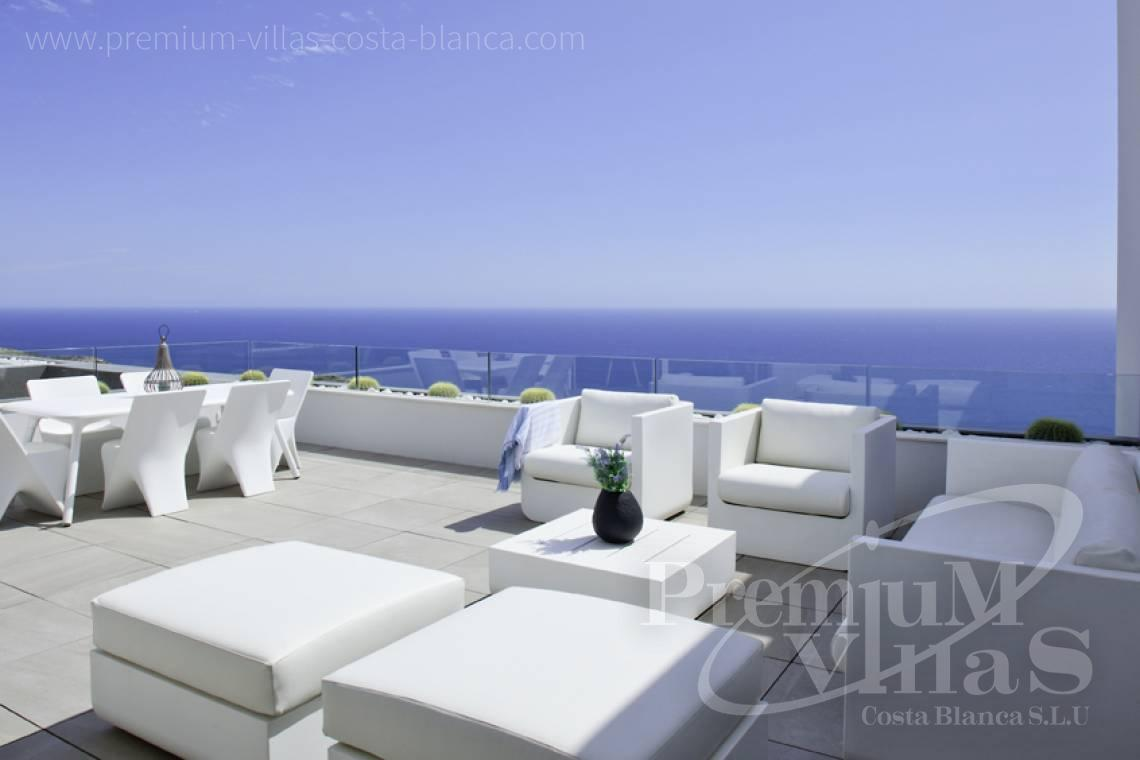 Penthouse apartment sea views Benitachell Costablanca - A0536 - Under construction: Modern and luxury appartments with large terraces 26