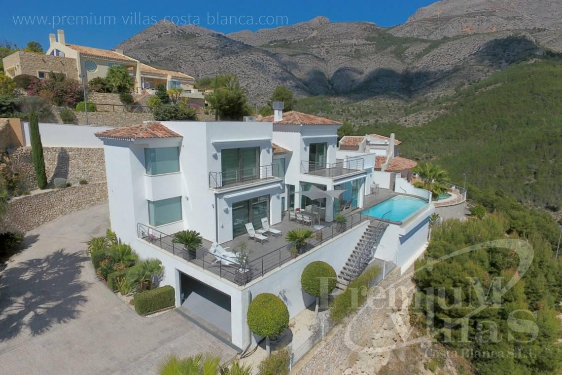 house villa for sale Altea Costa Blanca Spain - C2057 - Modern luxury villa in Altea La Vella 3