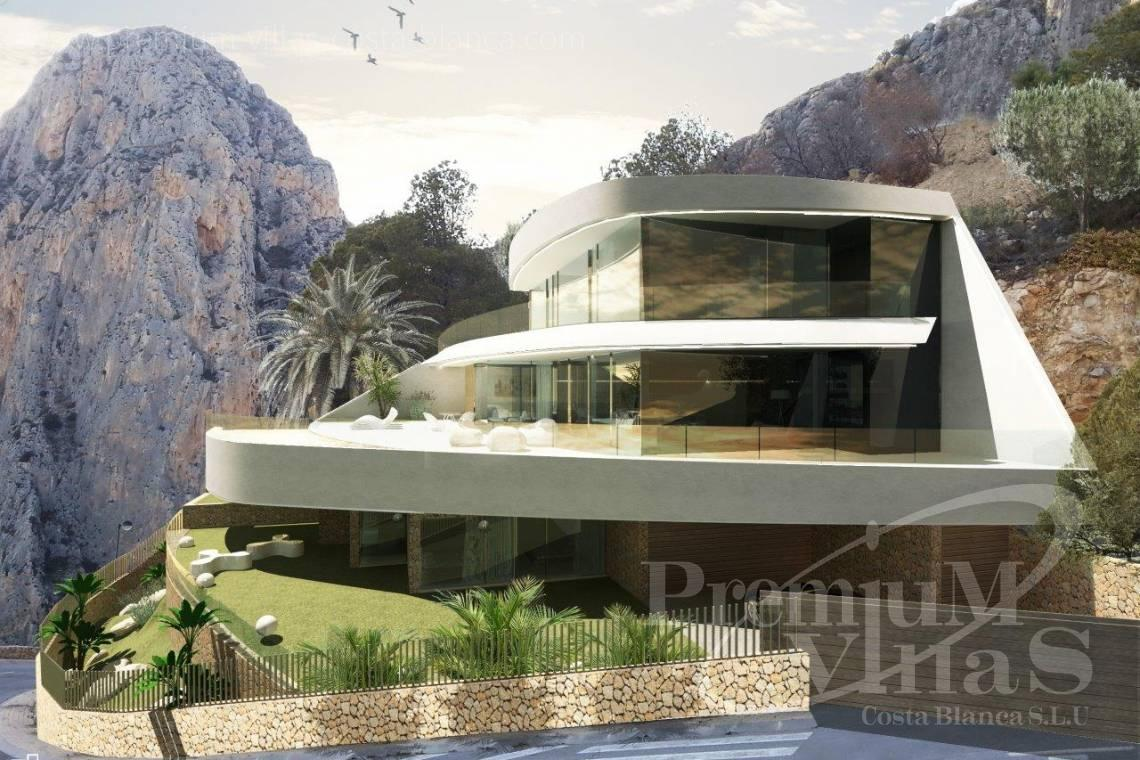 house villa for sale Altea Costa Blanca Spain - C1852 - Our company builds this modern and luxury villa with amazing sea views 22