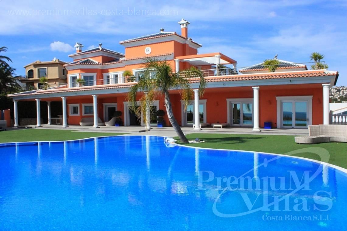 buy 4 bedrooms house villa Moraira Costa Blanca - C1589 - Magnificent mansion on the sea front in Moraira 2