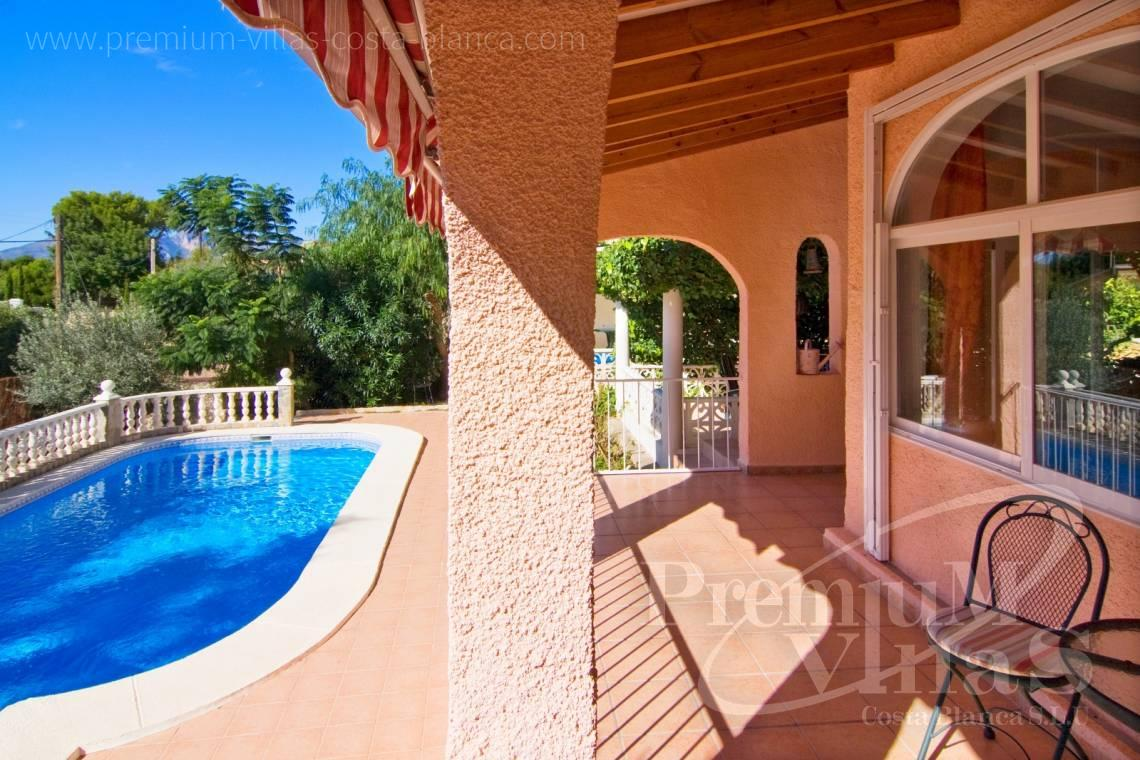 Villa for sale near Don Cayo Golf Club in Altea Costablanca - C2129 - Privately located villa with sea view and beautiful garden in Altea 25