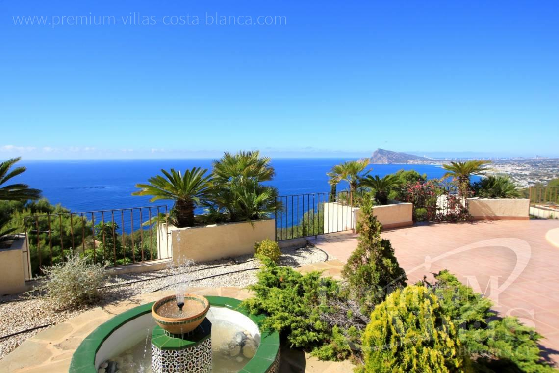 Villas for sale with sea views in Altea Hills Costablanca - C1962 - Mediterranean villa on a top location in Altea Hills with Tennis court 4