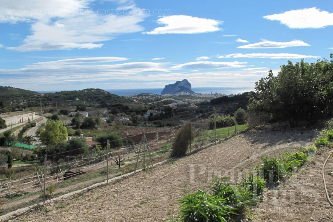 - C1835 - Well maintained stone finca in Benissa with nice sea views! 4