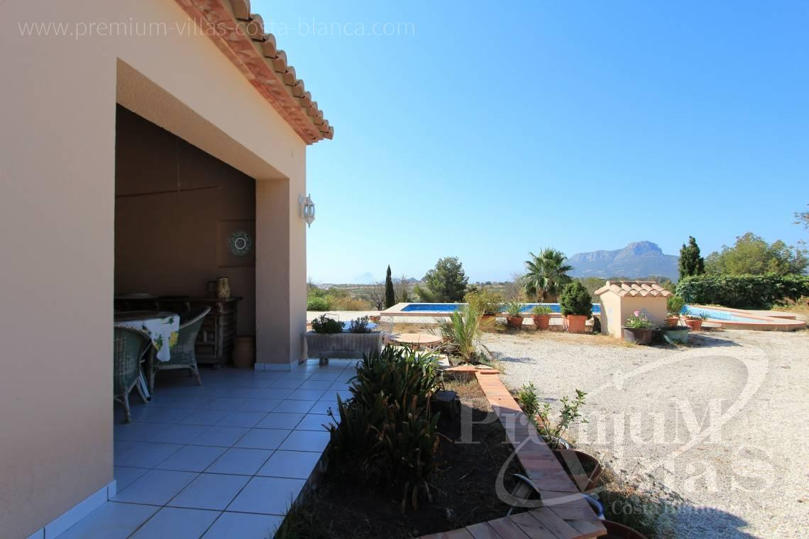 buy finca land house Benissa Costa Blanca - C1826 - Spacious country house with two guests studios ideal place for horses 5