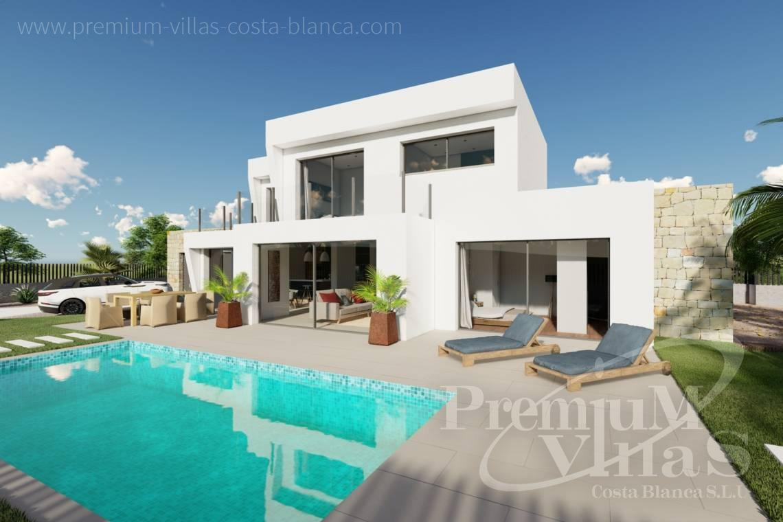 Buy villa close to the beach in Calpe Costa Blanca - C2312 - Modern 4 bedroom villa near the beach in Calpe 5