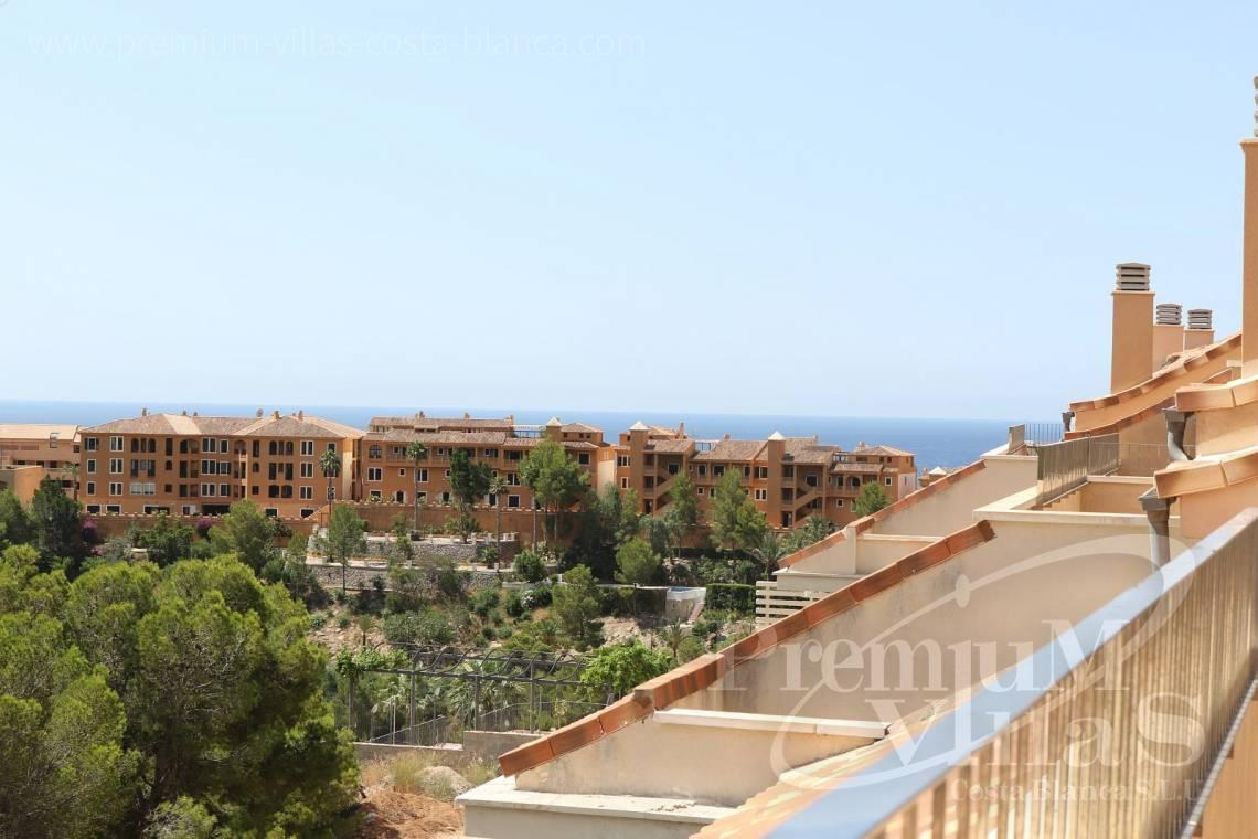 Apartment penthouse duplex near beach sea views Altea Calpe Costa Blanca - A0552 - Beautiful and spacious penthouse in Mascarat 2