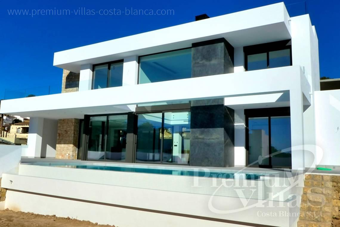 Buy a modern villa close to the beach in Moraira Spain - C2176 - Modern villa in Moraira close to the beach and the golf course  3