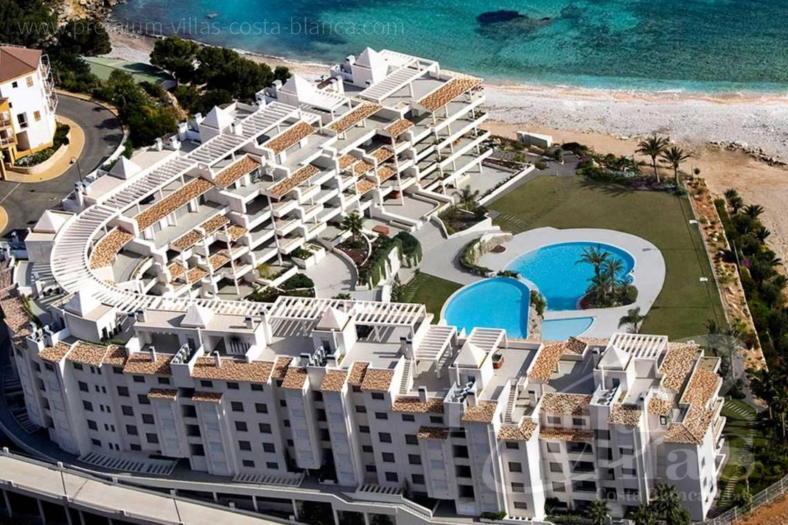 Luxury apartment in residential Mascarat Beach Altea Costa Blanca - A0606 - Seafront apartment in residential Mascarat Beach 2