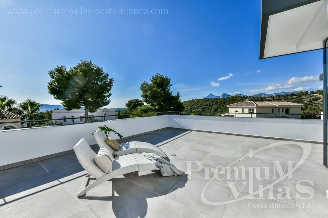 Buy modern villa in urbanization Monterico Altea - C2283 - New built modern villa in Altea La Vella 25
