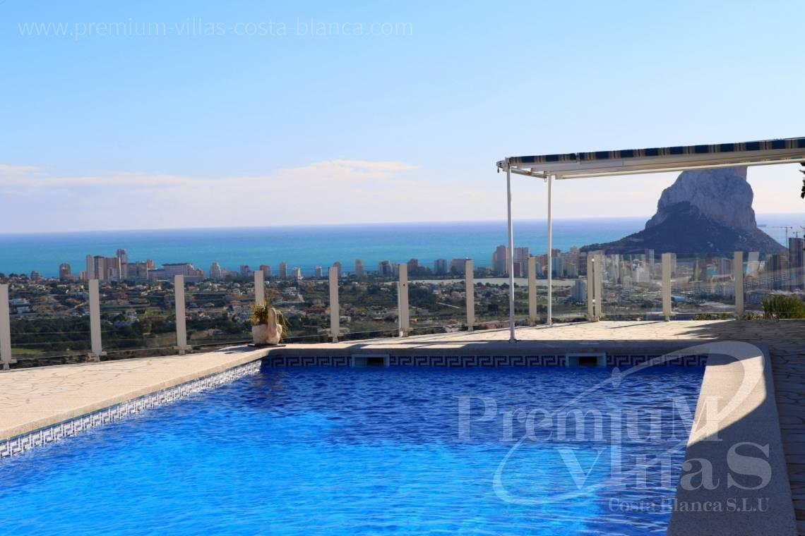 Villas with sea views in Calpe Costa Blanca - C1999 - Villa with nice sea view and guest apartment 22