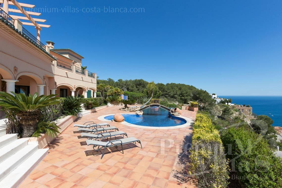 House villa for sale Javea Costa Blanca - C2196 - Javea: Wonderful villa in a privileged location with unbeatable sea views 4