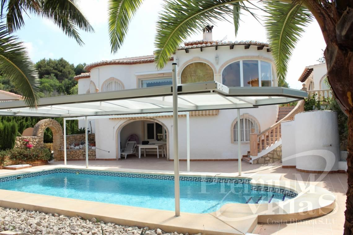 House in Calpe near the sea with guest apartment - C1300 - Villa with mountain views near the sea in Calpe for sale 25