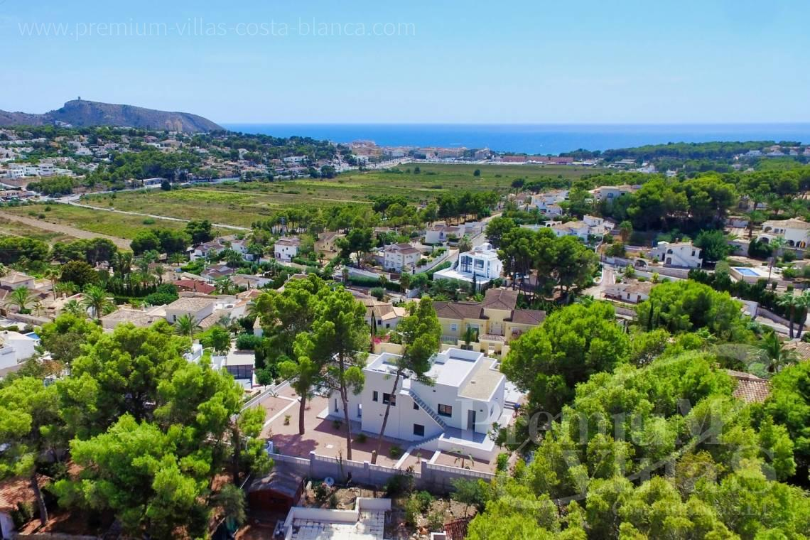 - C2452 - Modern villa with guest appartment in Moraira 2