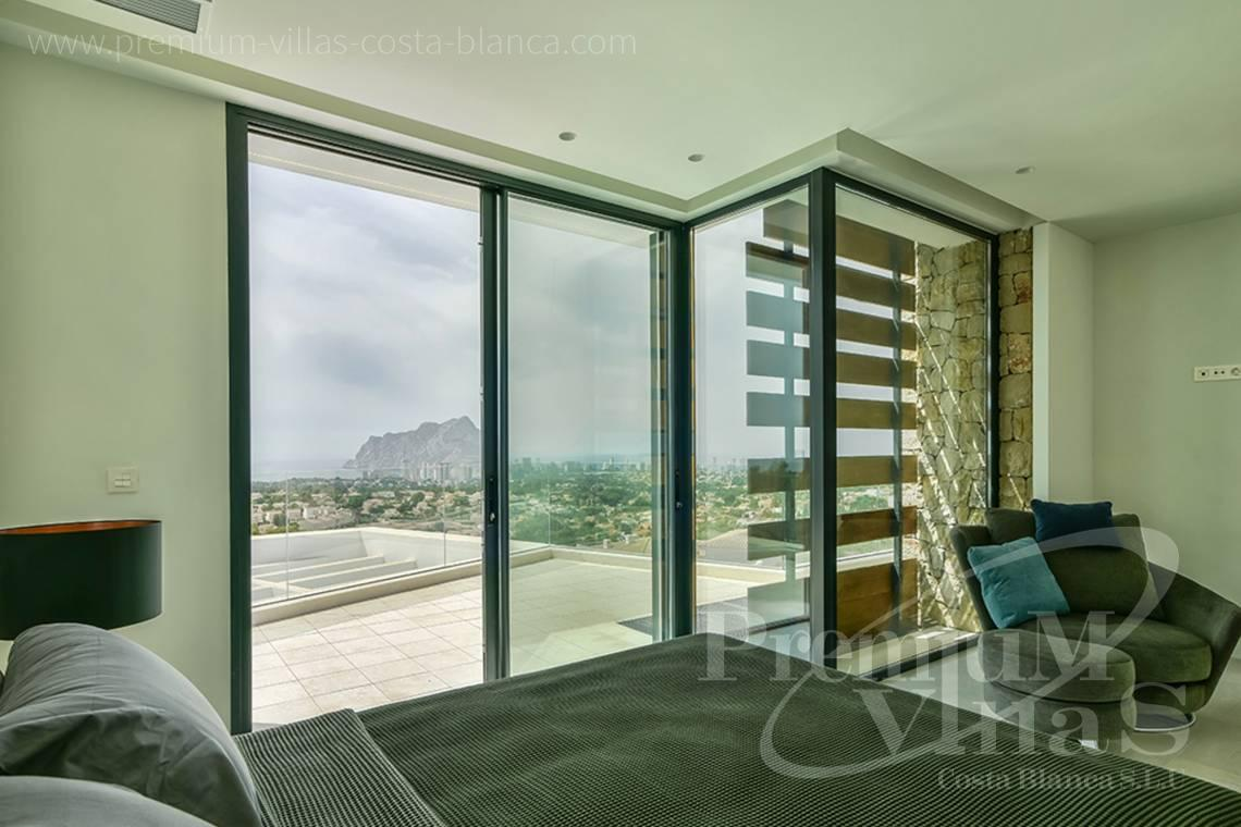- C2080 - Modern villa for sale with spectacular sea views in Calpe 16