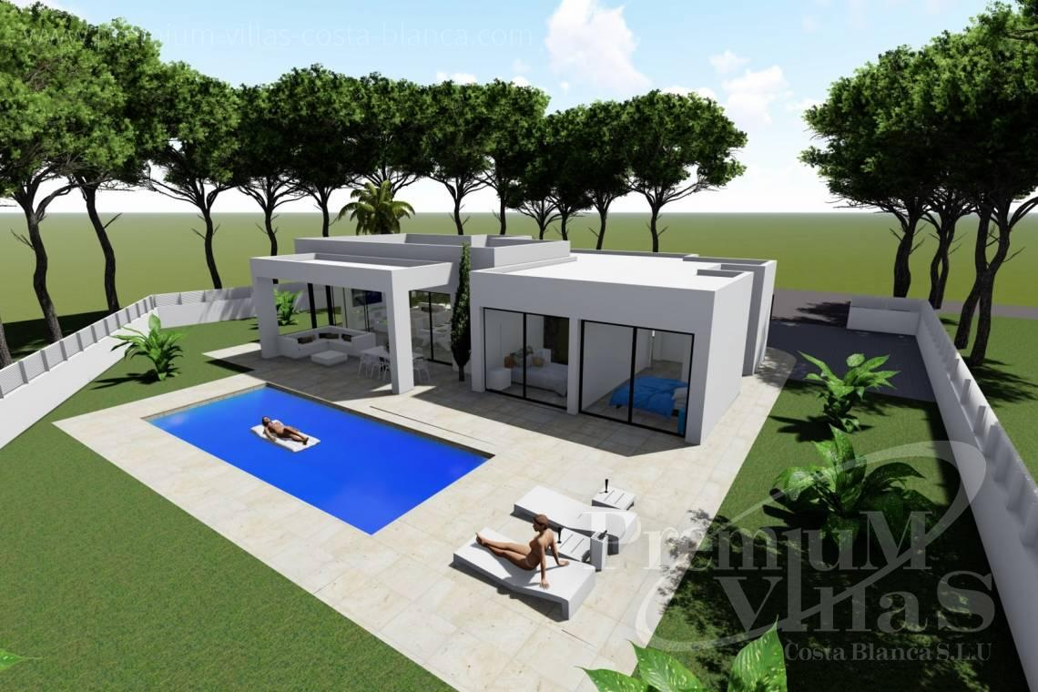 Newly built modern villa for sale in Calpe Costa Blanca - C2288 - Newly built modern villa near the beach in Calpe 1