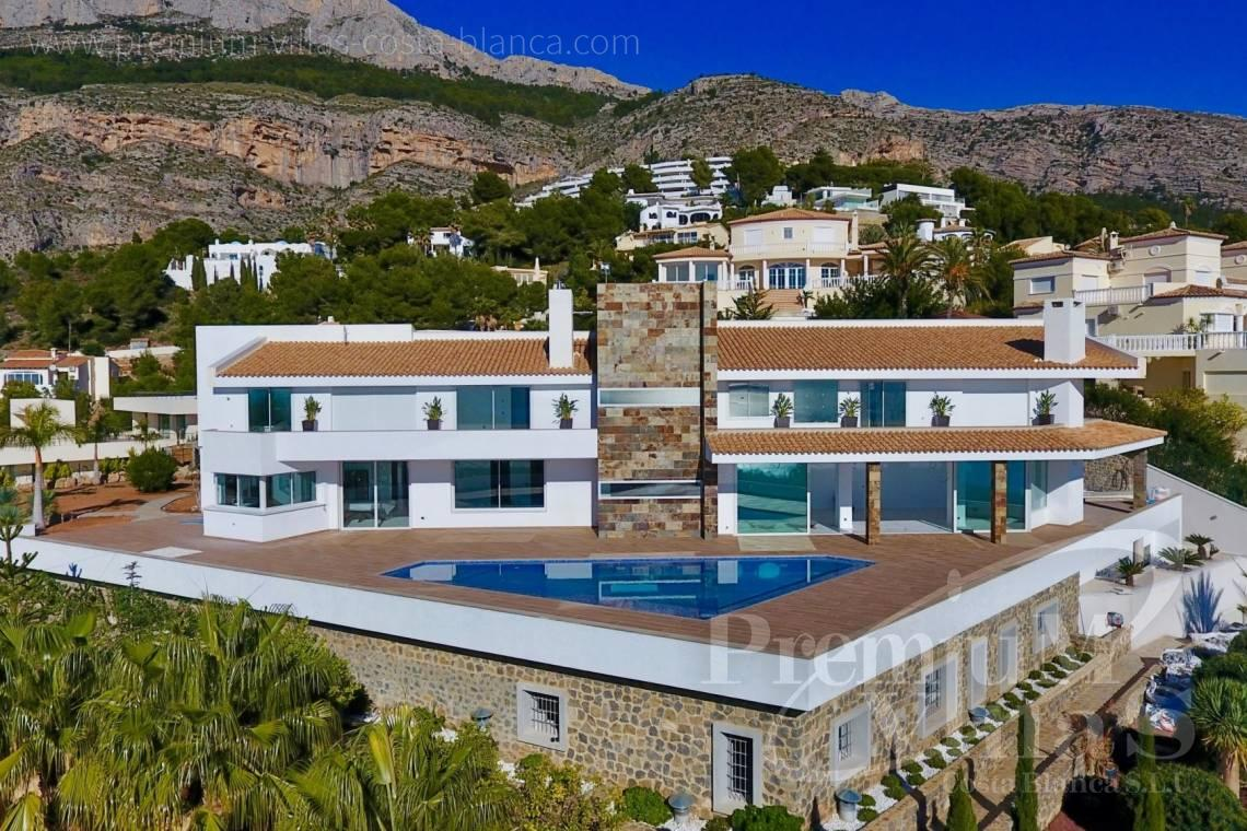 Luxury villa for sale in Altea Costa Blanca - C2316 - Modern luxury villa with sea views in Altea 3