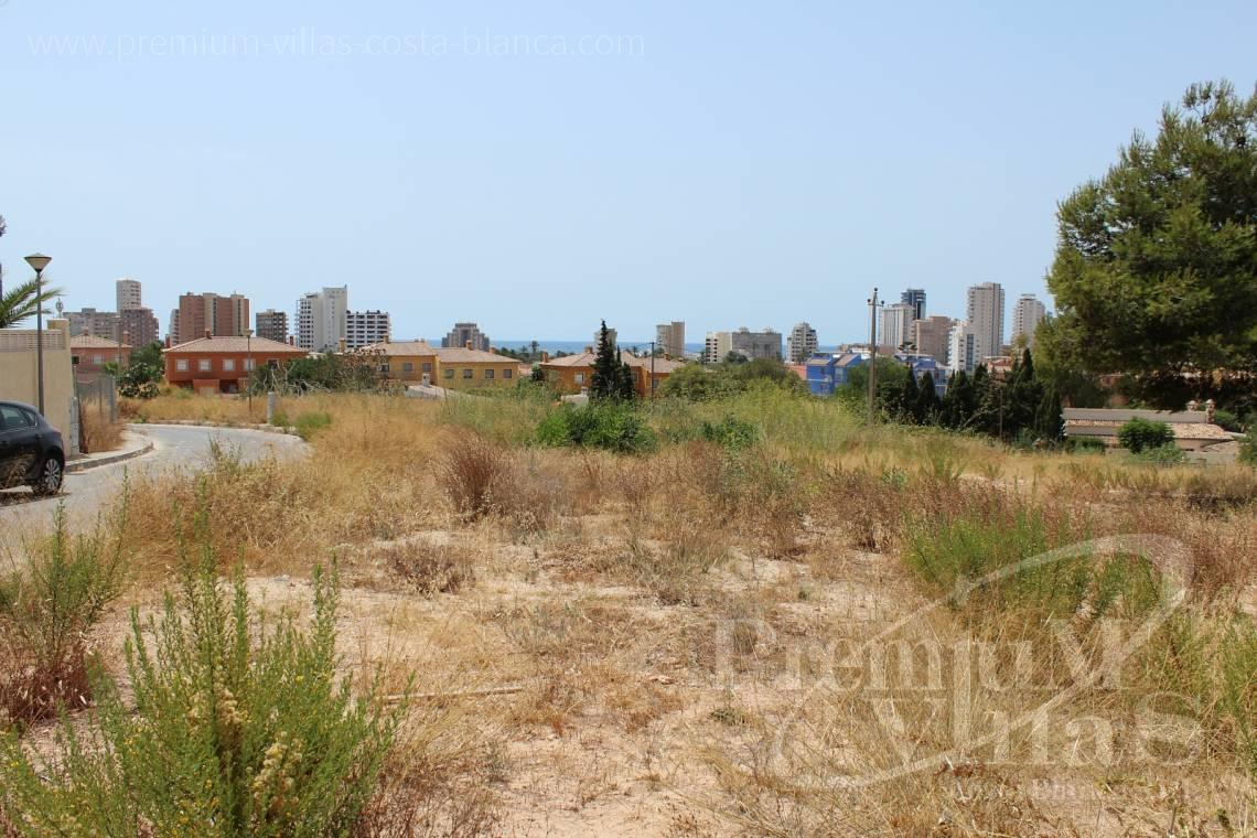 Plot with sea view Calpe Costa Blanca - 0183G - Five buildings plots at one step to the beach in Calpe 2