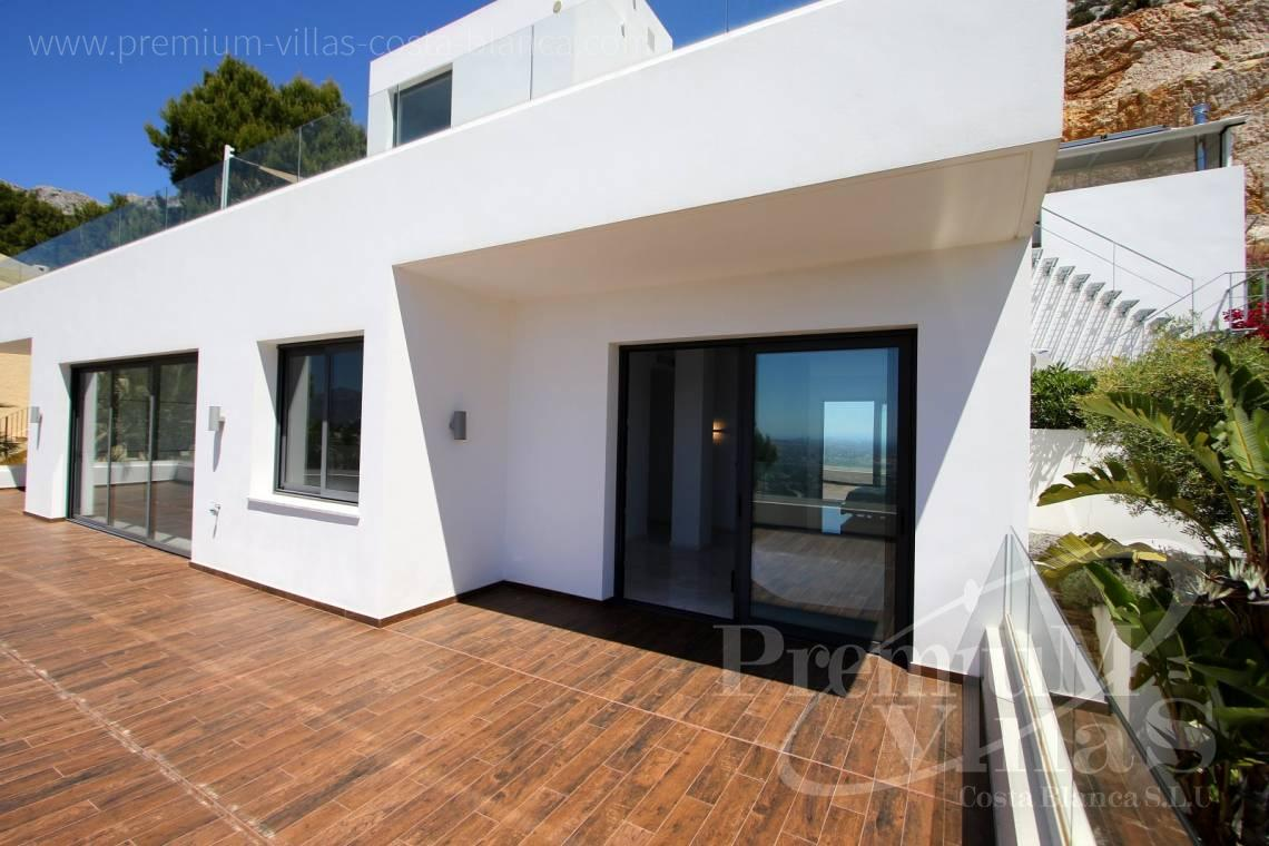 Buy villa with guest apartment in Altea Hills - C2048 - Modern villa for sale with panoramic sea views in Altea Hills 25