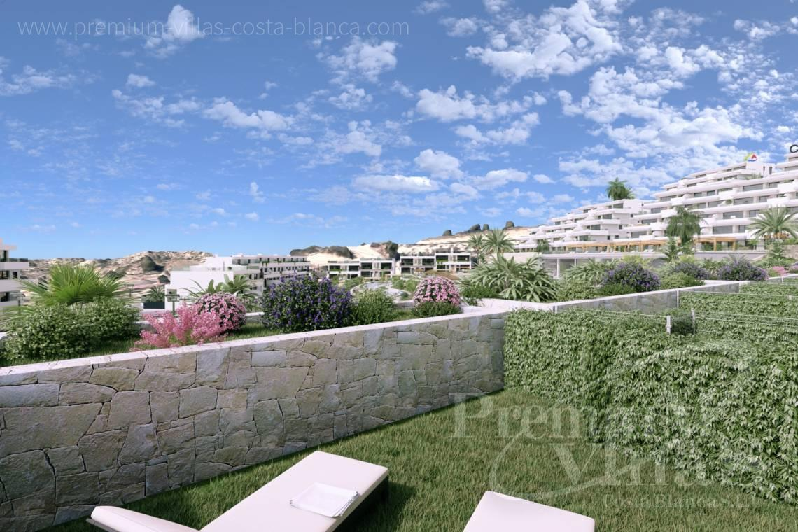 Buy duplex apartment with garden in Finestrat Spain - A0623 - Duplex with garden or solarium in luxury urbanization in Finestrat 3