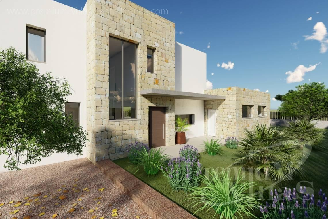 Modern villa for sale near the beach in Calpe - C2312 - Modern 4 bedroom villa near the beach in Calpe 20