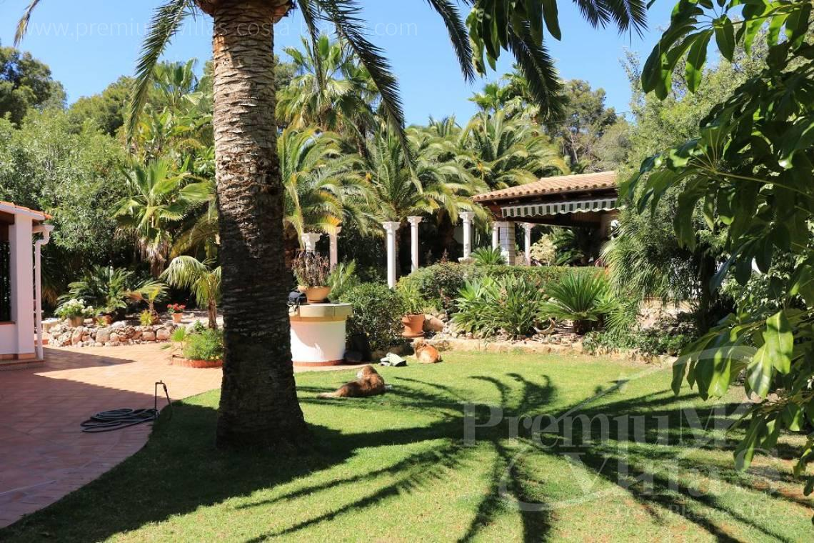 - C2151 - A real paradise on a double plot only 900m from the sea in Benissa 17