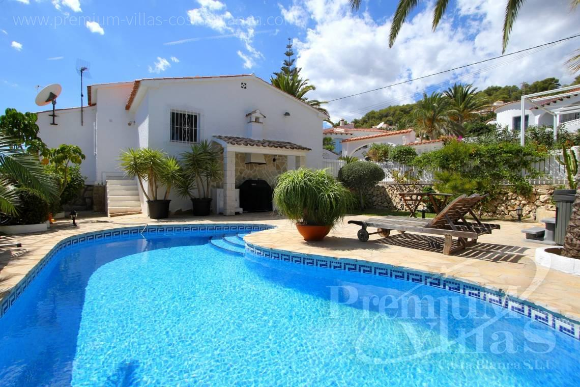 - C1983 - Charming villa with nice seaviews and guest apartment in Calpe  1