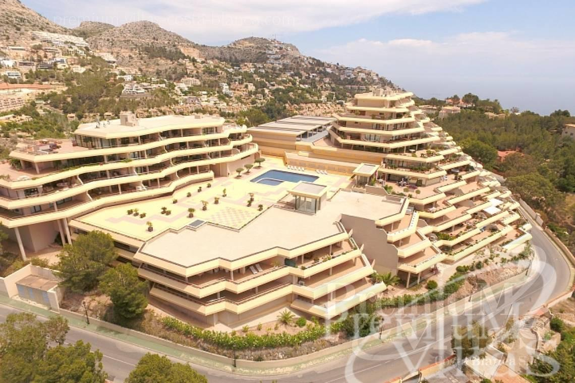 3 bedrooms apartment with sea views Altea Costablanca - A0562 - Nice apartment in the Sierra Altea with beautiful sea views 11