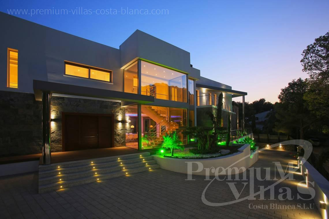 buy house villa Altea Costa Blanca Spain - C1531 - Sea front villa in Altea! A unique luxury villa at the Costa Blanca 3