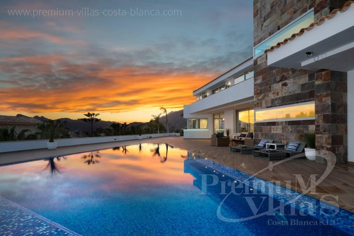 For sale luxury villa with sea views in Altea - C2316 - Modern luxury villa with sea views in Altea 1